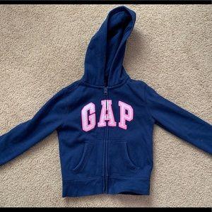 GAP girls sweatshirt, size small